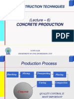 LEC6 Concrete Production