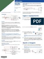 Guia de Instalação Projetor Epson X24