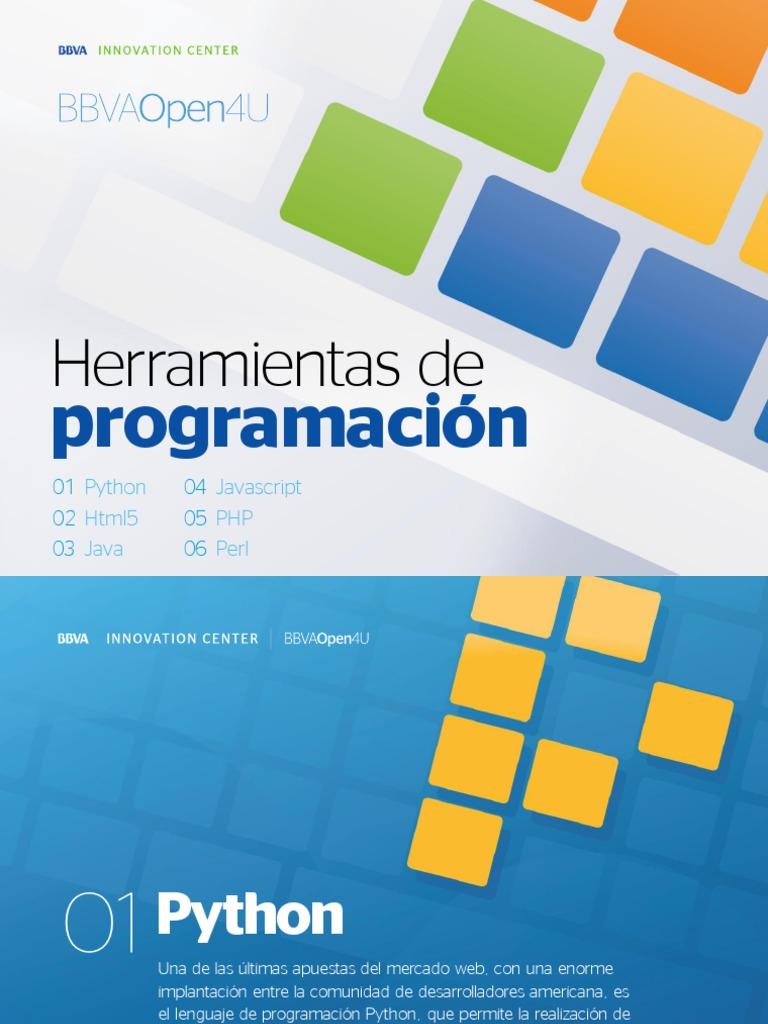 Ebook: Herramientas de programación para desarrolladores