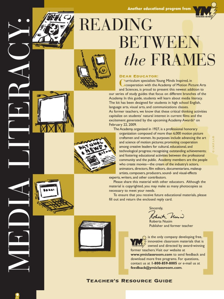 Academy of Motion Picture Arts and Sciences | Media Literacy Teacher Guide  | Mass Media | Stereotypes