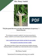 Build a Sundial - Design a Sundial