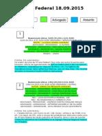 Diário Federal 18.09.2015
