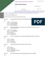 Medicine MCQ Pre-MD Practice Series XII