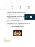 Mermelada de Locoto