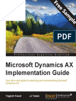 Microsoft Dynamics AX Implementation Guide - Sample Chapter