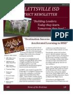 HISD Newsletter Issue 2