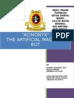 MRSM ROBOFAIR 2015 REPORT-THE ACINONYX