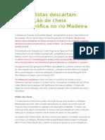 Cheia Rio Madeira Relatos