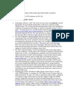 ICARE SB 1346 (CAFO secrets bill) Follow-up