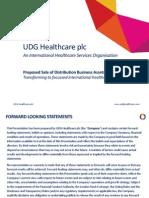 UDG Healthcare Presentation