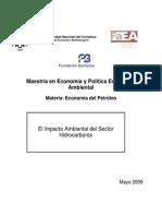 Impacto Ambiental Sector Hidrocarburos 2009