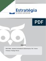 TCU 2015 Aula 04 - Administração Geral RETA FINAL - Última