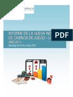 Informe Industria Casinos 2011
