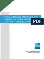 Amex WS PIP Terminal Interface Spec ISO Apr2011