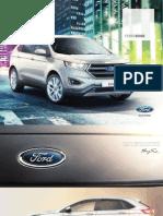Catálogo Nuevo Ford Edge