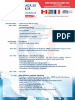 2015 Programme Convention
