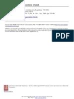 Ideologías sindicales y políticas estatales en la Argentina, 1930-1943
