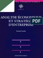 Analyse Économique Et Stratégie d'Entreprise