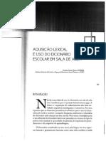 GOMES, Patrícia Vieira Nunes. Aquisição lexical e uso do dicionário escolar em sala de aula.pdf