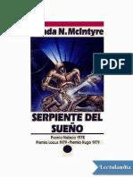 Serpiente Del Sueno - Vonda N McIntyre
