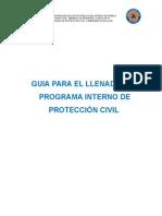 Guía Para El Llenado Del Programa Interno de Protección Civil