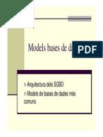 Models de Bases de Dades