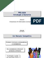 Receita Marginal - Empresas Em Mercados Competitivos