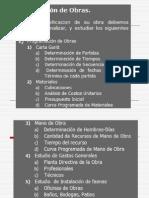 Planificacion de Obras