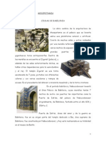 Arte - Historia Antigua