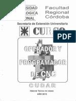 Curso Operador de Cnc 2013