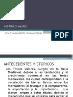10ma Sesion - Los Titulos Valores y La Constitucion de Sociedades