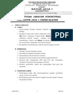 Uraian Tugas Jabatan Struktural Smk Batur Jaya