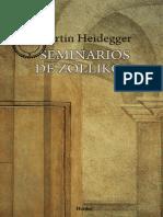 Heidegger, M. - Seminarios de Zollikon