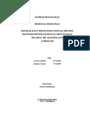 Proposal Penelitian Farmasi Pdf Amat