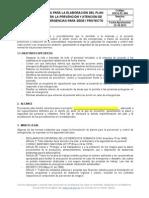 Hseq-pl-004 Guía Plan Emergencias Sede-proyecto
