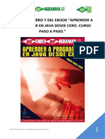 Indice libro y ebook aprender a programar en Java desde cero curso pasoapaso.pdf
