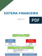 Aula 3 - Sistema Financeiro
