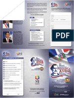 Formulario de postulantes al Premio Nacional a La Excelencia Juvenil Juan Pablo Duarte - 2016