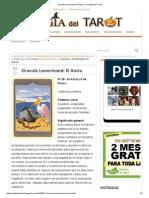 Oraculo Lenormand_ El Ancla - La Magia Del Tarot