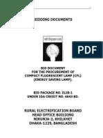 20. Bangladesh CFL Bid Document 080909