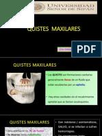13. QUISTES  maxilares