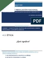 0. Legislación y Regulación Nacional. Unidad 1