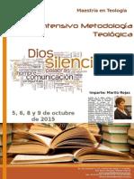 Metodología Teológica