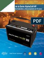 Baterías Alpha Cell 4.0 Hp
