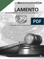 Reglamento de Las Asambleas de Dios en Guatemala