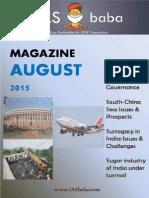 August_Magazine 2015 - IASbaba