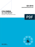 Colombia Oil & Gas Report Q3 2015