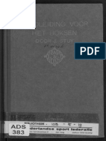 Handbook of Boxing - J. Stuv (Dutch Royal Navy) 1919
