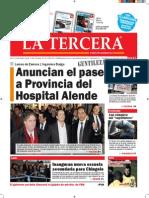 Diario La Tercera 18.09.2015