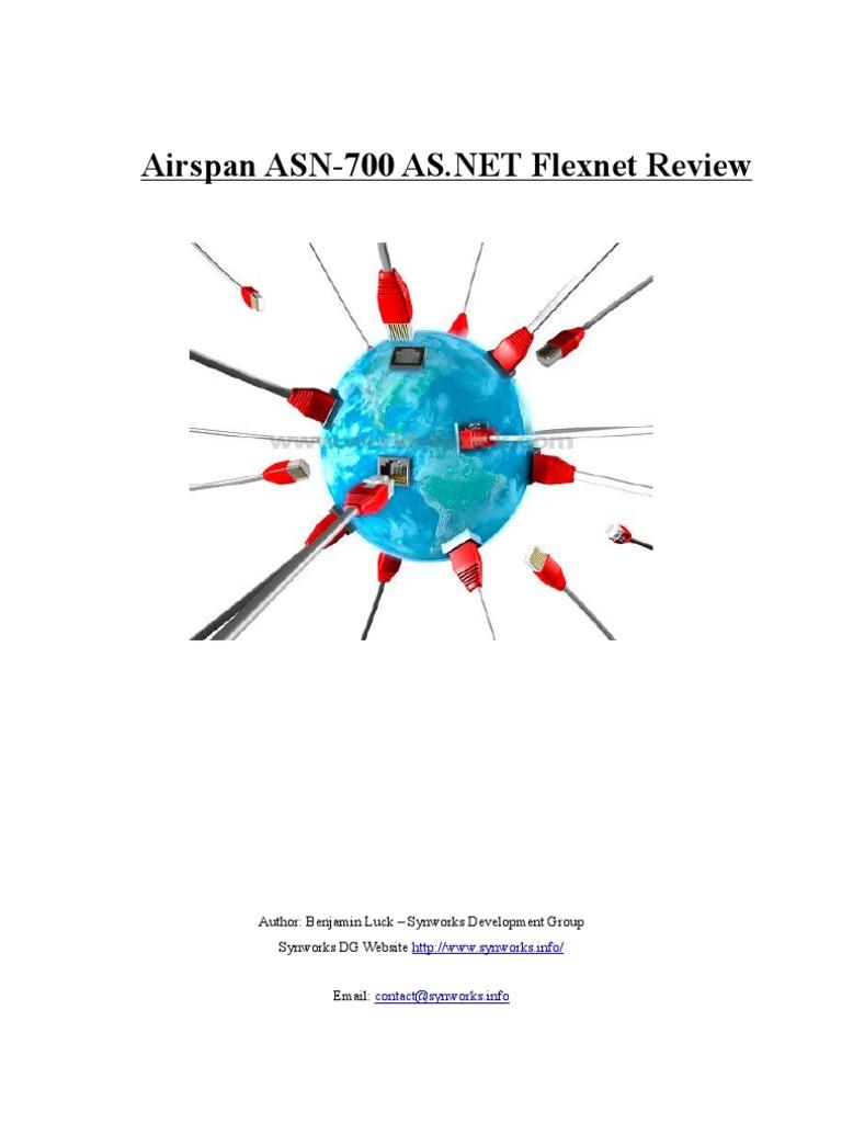 Airspan ASN-700 as net Flexnet Review | Internet Access | Computer